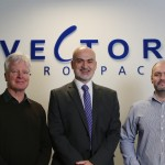 The Take Off Team with Vector Aerospace MD, Mick O'Connor